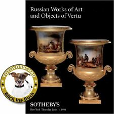 Sotheby's: Russian Works of Art and Objects of Vertu (Ikone/icon, Silber/silver)