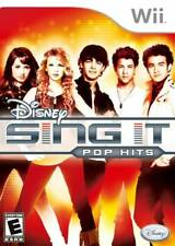 Disney Sing It: Pop Hits (Nintendo Wii, 2009) LN WITH Manual & FAST SHIPPING