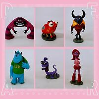 Monsters University Mike Sully Action Figure Toy Cake Topper 6PCS