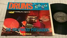 HOLLYWOOD PERSUADERS (FRANK ZAPPA) Drums A Go-Go RARE ORIG '65 STEREO LP