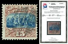 Scott 118 1869 15c Columbus Type I Pictorial Issue Used F-VF Cat $800 PSE CERT!