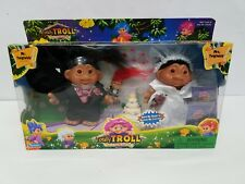 New Totally Troll Mr. Twigtwizle & Mrs. Twigtwizle + Baby Boxed Set Free S&H