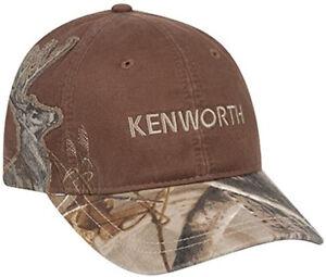 kenworth RealTree Xtra hat camo cap KW real oak tree mossy DRI DUCK diesel gear