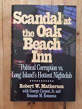 Scandal at the Oak Beach Inn by Robert Matherson (1998, Hardcover)