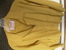 Vintage 1950s McGregor Cravenette 'Drizzler' Jacket Rain Yellow Sz.46 but fits38