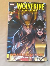 WOLVERINE FIRST CLASS WOLVERINE BY NIGHT MARVEL GRAPHIC NOVEL