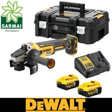 DeWALT DCG405P2 smerigliatrice angolare 125mm 18V BRUSHLESS con 2 batterie 5 Ah