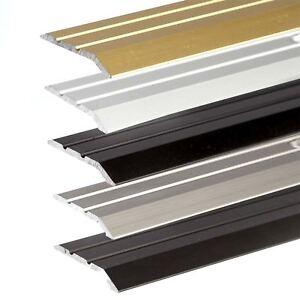 ANODISED ALUMINIUM DOOR FLOOR BAR EDGE TRIM THRESHOLD RAMP900 x 30mm A01