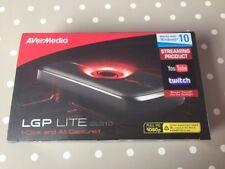 Avermedia LGP LITE GL310 HD de captura de video juego streaming de YouTube Xbox One PS4