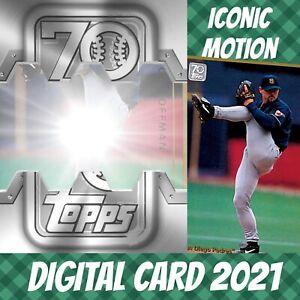 Topps Bunt 21 Trevor Hoffman 70th Anniversary Celebration Iconic 2021 Digital