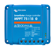 Victron SmartSolar MPPT 75/15 Charge Controller w/bluetooth NEW 5 year warranty