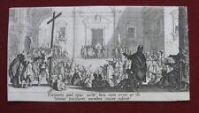 Jacques Callot: Ecce homo 1620/Grande Passion Early Print Frühdruck Radierung
