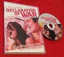 Declaration of War (DVD, 2012) Valerie Donzelli