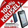 Krusell Sealabox L Custodia per Iphone 3gs 4 4s Impermeabile Cellulare Cover