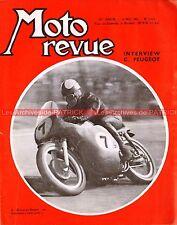 MOTO REVUE 1491 TERROT Skipper Claude PEUGEOT INSERMINI Bourg en Bresse 1960