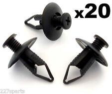 20x 8mm Mazda Bumper, Wheel Arch Lining, Undertray Trim Panel Retainer Clips