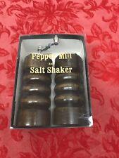 Cherry Wood Pepper Mill & Salt Shaker Set Japan
