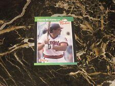1989 DONRUSS THE ROOKIES  AUTO CARD FROM DANTE BICHETTE #29 NM