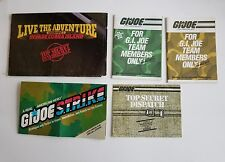 Vintage GI Joe Pamphlet Order form Lot