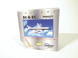 Gemini Jets GJEAL082 Scale 1:400 DC-8-21 Fly Eastern's Golden Falcon Jet
