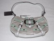 GUESS ADELINA  SHOULDER BAG WITH LOVELY SILVER LIKE TONE & BEADED ACCENTS $78MSR