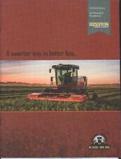 "Massey Ferguson Hesston ""WR9800"" Self Propelled Windrower Brochure Leaflet"