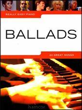 Really Easy Piano Ballads Sheet Music Book Coldplay The Kinks John Lennon Robbie