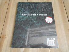 Vampiro 20 Aniversario - Pantalla del Narrador - juego rol - Nosolorol - V20