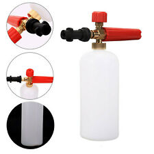 More details for 1l snow foam lance shampoo car soap gun cleaning pressure washer for karcher