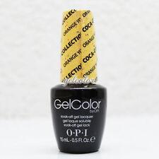 OPI GelColor Soak Off LED/UV Gel Nail Polish 0.5 oz Orange You Fantastic #GCC20
