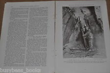 1933 magazine article about GOLD; history, usage, effect, mining  etc