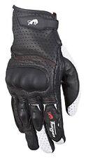 Gants noirs en peau de chèvre taille L pour motocyclette