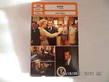 CARTE FICHE CINEMA 1995 NIXON Anthony Hopkins Joan Allen Ed Harris Bob Hoskins