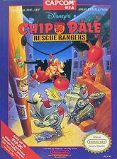 Disney's Chip 'N Dale: Rescue Rangers (Nintendo NES, 1990) Cart Only