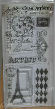 Tampons transparents TIM HOLTZ: MARCHE FRANCAISE scrapbooking cartes clear stamp