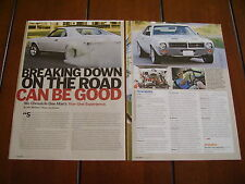 1969 AMC JAVELIN SST HOT ROD ***ORIGINAL ARTICLE***