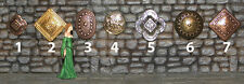 Castle Decor (Shields, Torches, etc.) -  Works with Dwarven Forge and DnD D&D