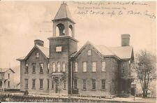 Third Ward Public School Indiana PA Postcard 1910