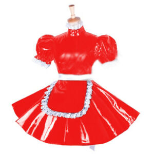 PVC lockable maid girly Halloween dress cosplay Tailor-made