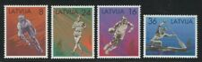 Latvia 1996 Summer Olympics set & S/S Sc# 418-22 NH