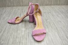 Sam Edelman Odila Ankle Strap Heeled Sandals - Women's Size 8M - Lilac