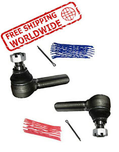 Left & Right Hand Side Tie Rod End Fits Case Loader Tractor 580 D88491 & D88492
