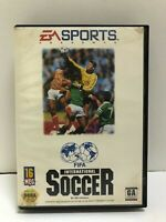 FIFA International Soccer (Sega Genesis, 1993) Ships Immediately!
