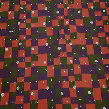 Patchwork Cotton Corduroy Pin Wale Apparel Sportswear Embroidered Fabric Bfab