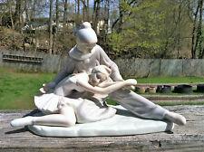 Porcelain Clown & Ballerina Figurine by Paul Sebastian MEICO 1991~Fine Porcelain