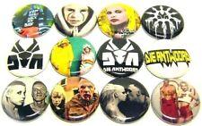 "12 Die Antwoord -One Inch Buttons 1"" Pinback Pins Ninja Yolandi Badges"