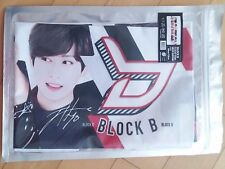 BlockB Block B KPOP Photo Cheer Slogan Towel JaeHyo U Kown B Bomb P.O TaeIl Zico