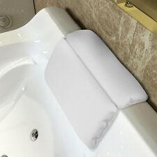 Bañera de Hidromasaje Almohada Impermeable Cojín de Esponja Antideslizante Hombro reposacabezas de espuma de memoria