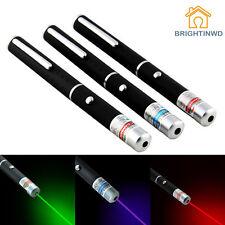 3PCS Powerful Laser Pointer Green+Red+Purple 5mW Laser Pen
