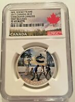 2017 $10 Vancouver Canucks First Releases NGC PF 69 Canada Silver Coin